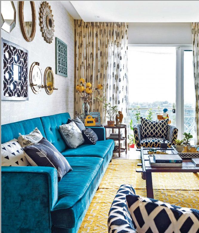 Donu0027t Miss: 10 Best Decorated Homes From GoodHomes In 2018 | Indian Homes |  Pinterest | Living Room Designs, Design And Indian Homes