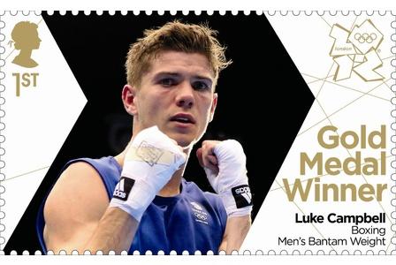 Team GB Gold Medal Winner Luke Campbell for Boxing Men's Bantam Weight