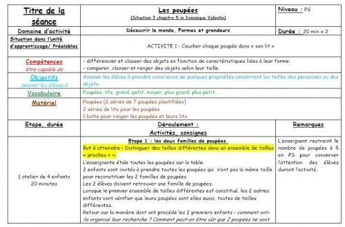 Situations mathématiques Petite Section - (page 3) - LocaZil