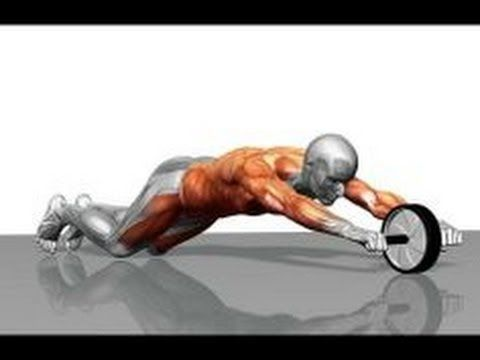 How to use an Abs Roller with workout and form guide - YouTube