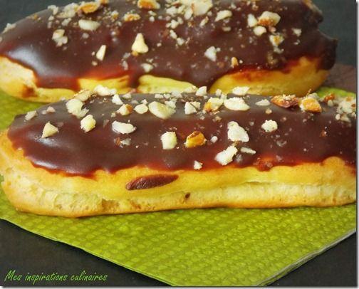 recette des Eclairs au chocolat facile