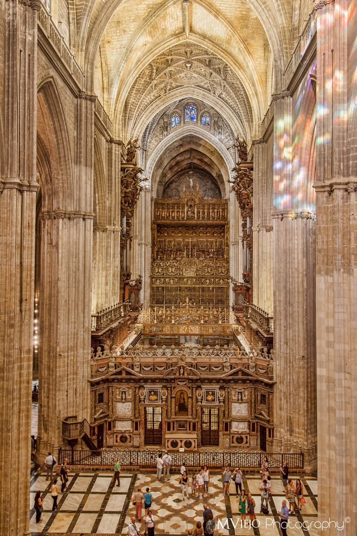 Catedral de Sevilla by MViejoPhoto on 500px