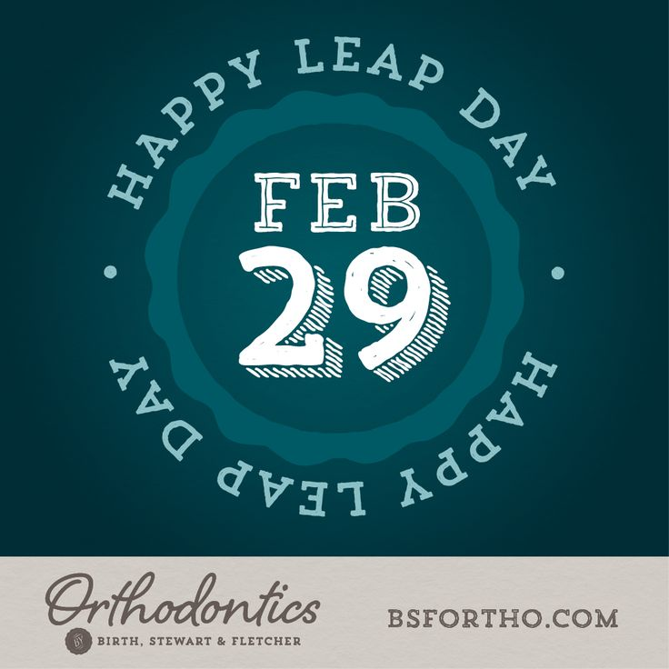 Did you know that the Romans first designated February 29 as leap day? A more precise formula (still in use today) was adopted in the 16th century when the Gregorian calendar fine-tuned the calculations to include a leap day in years only divisible by four - 2012, 2016, 2020, 2024, etc. #BSFOrtho #FletcherOrtho #BirthOrtho #LeapDay
