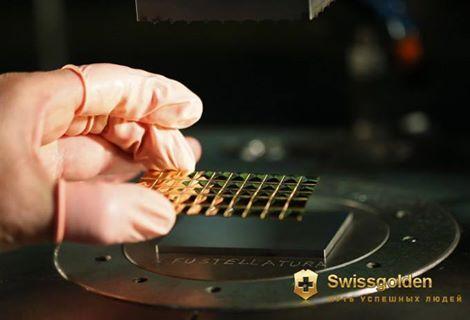 Swissgolden - Lámina de oro de inversión.