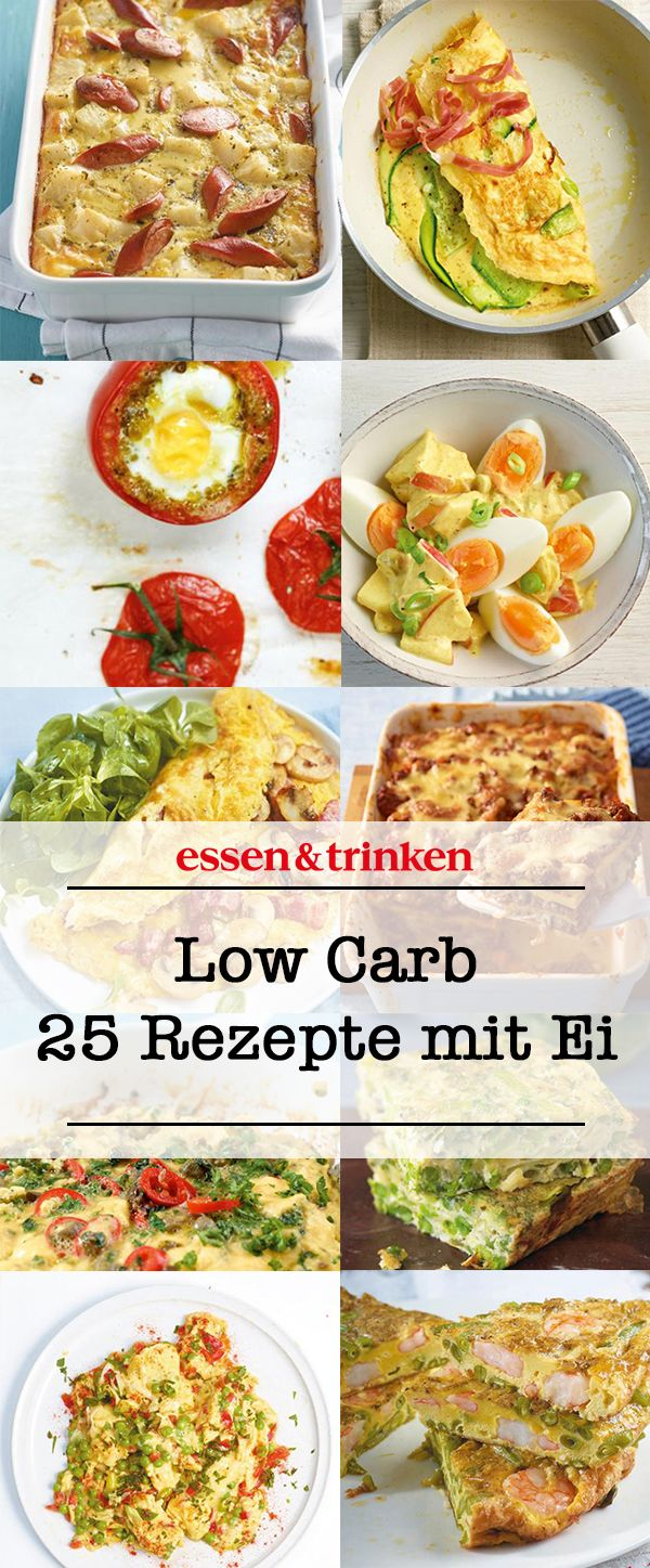 Low Carb Rezepte mit Ei