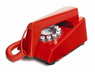 Red TRIM Phone by Wild and Wolf