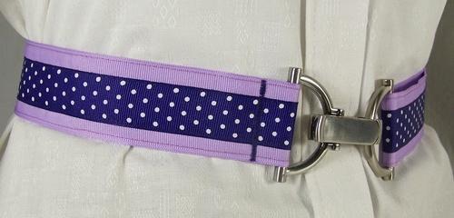 Lavender Ribbon Bit Belt