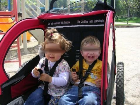 Bicicleta.es - Remolque de bicicleta para 1 o 2 niños, a estrenar
