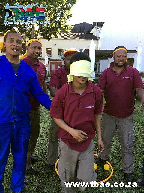 Team Building Perdeberg Winery