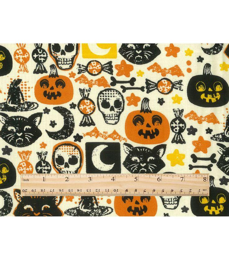 halloween organza fabric
