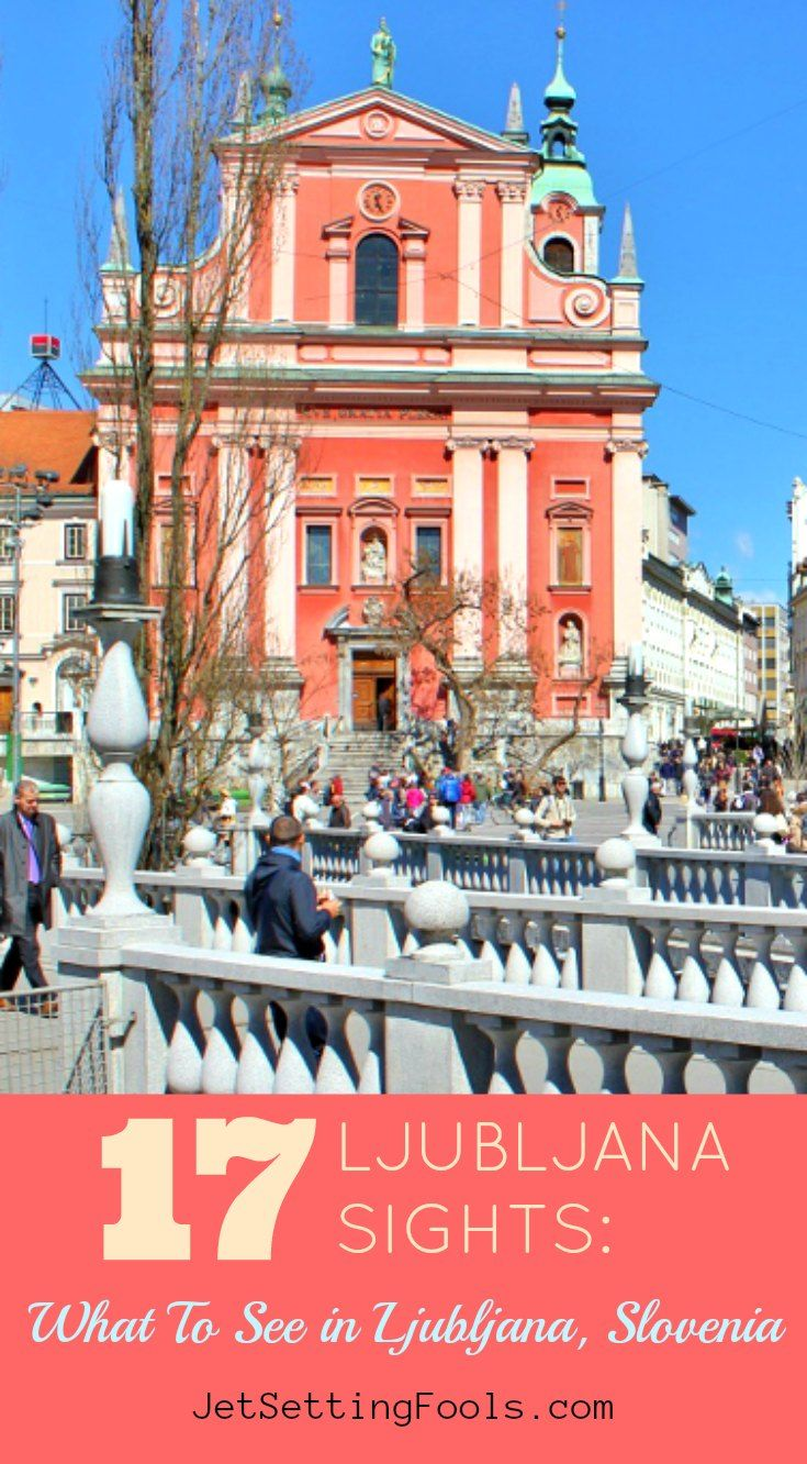 Our list of 17 Ljubljana sights are our best tips on what to see in Ljubljana, Slovenia. Even if you only have one day in Ljubljana, these are the sights to see! Note: We have included a Ljubljana Old Town map that is labeled with our 17 Ljubljana attractions at the end of the post.