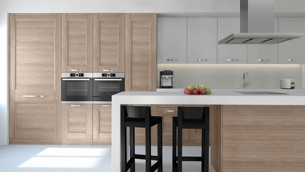 Kitchen planning made easy, with built-in appliances from Bosch. Find out how you can use Kitchen Design Ideas for your planning.