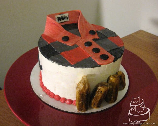 Lumberjack Cake Flannel Shirt Cake Morgan Phillips