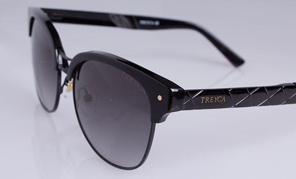 Treyca Clubmaster Black Sunglasses. #Treyca #Sunglasses
