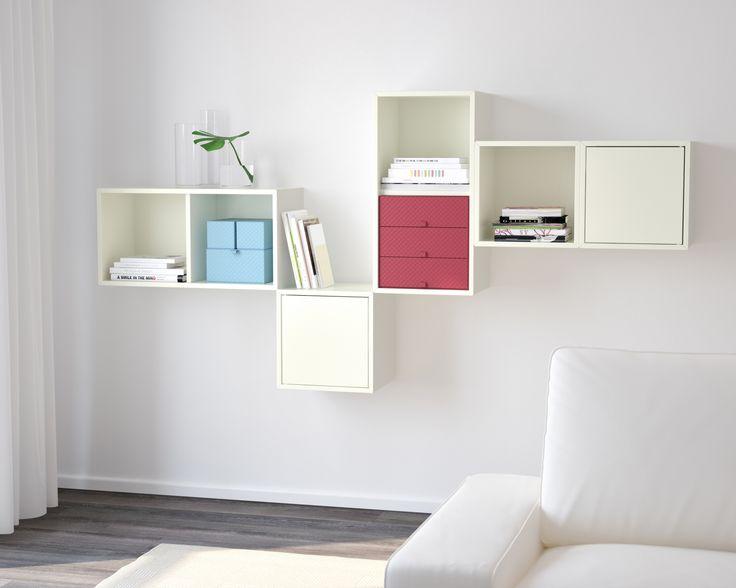 Caixas que dão cor. #caixas #arrumação #IKEAPortugal