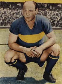 Natalio Agustín Pescia (January 1, 1922 – November 11, 1989) was an Argentine football midfielder, born in Dock Sud district of Avellaneda Partido. He played his entire club career for Boca Juniors in Argentina. Pescia played a total of 364 games for Boca in all competitions scoring 7 goals for the club. He also won 7 championships with the club, 3 domestic leagues, 2 national cups and 2 international cups.