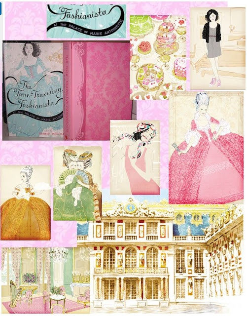 The Time Traveling Fashionista At The Palace Of Marie Antoinette