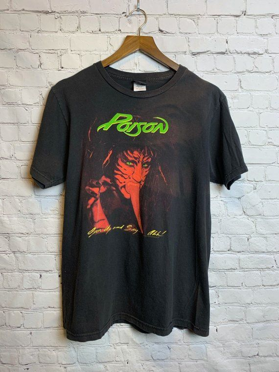 2a157aee Awesome Poison Vintage T-shirt in perfect condition, no holes, rips or  defects