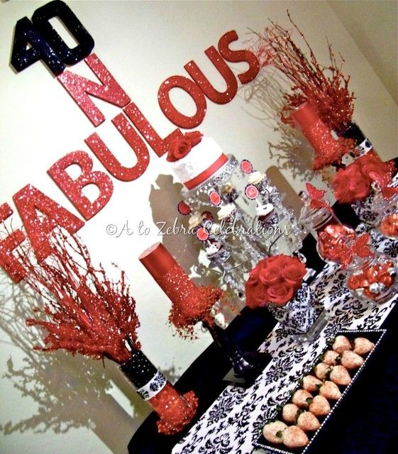 40th Birthday Party Ideas | Photo 2 of 25 | Catch My Party