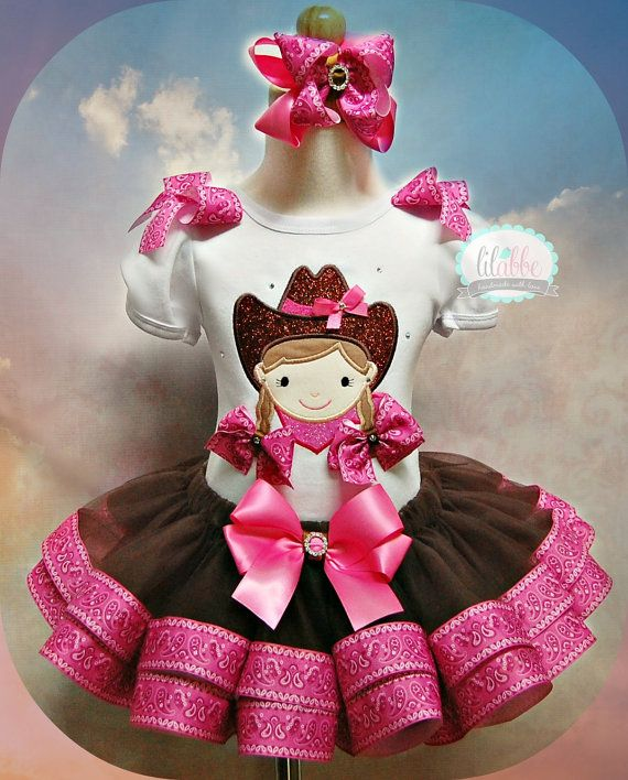 Howdy Partner Cowgirl Tutu SetIncludes Top by lilabbehandmade, $79.99