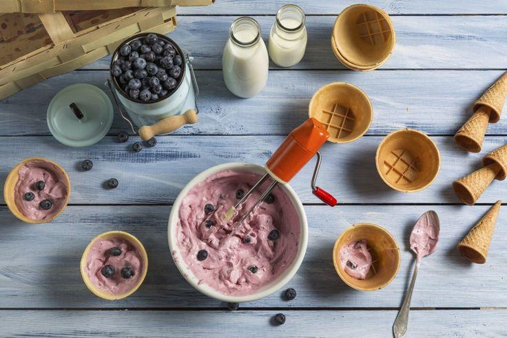 3 pomysły na zdrowe lody. Potrzebujesz tylko 3 składni