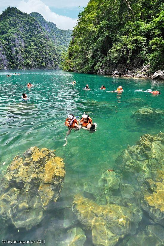 Kyangan Lake, Western Visayas, Philippines