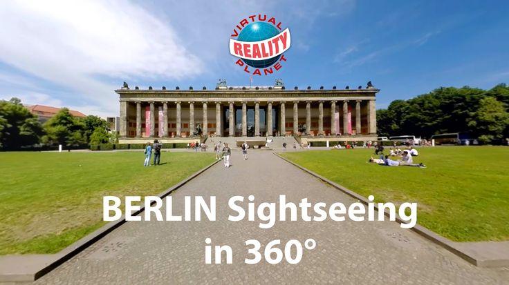 Die weltweit erste BERLIN Sightseeing Tour in 360 #vr #virtualreality #oculus #oculusrift #gearvr #htcvivve #projektmorpheus #cardboard #video #videos