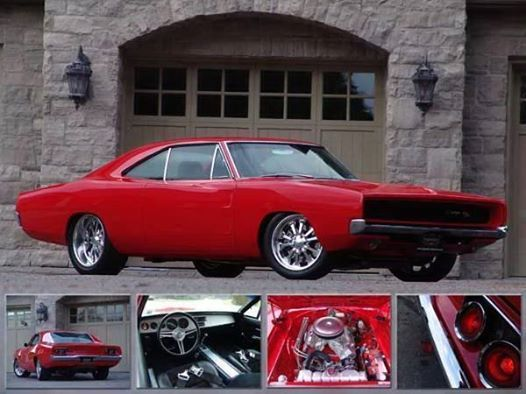Custom 1968 Dodge Charger