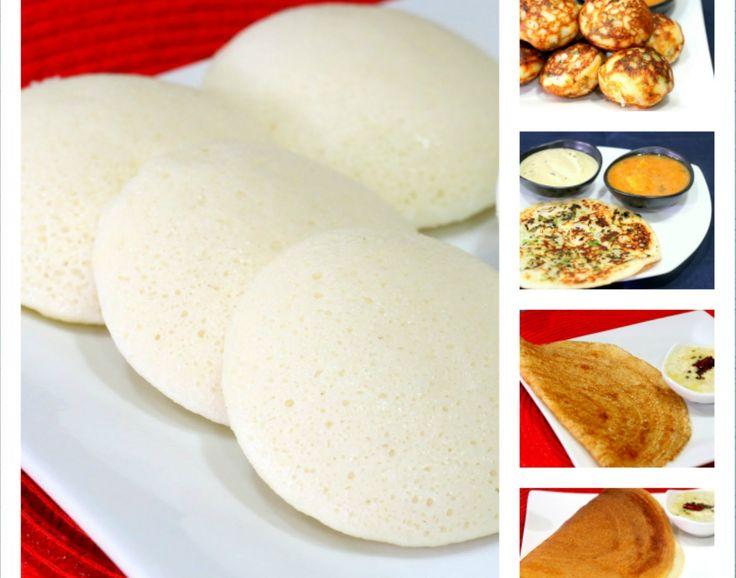 Mejores 9 imgenes de vegeterian indian food en pinterest recetas all in one batter how to prepare idli dosa batter recipe south indian forumfinder Image collections
