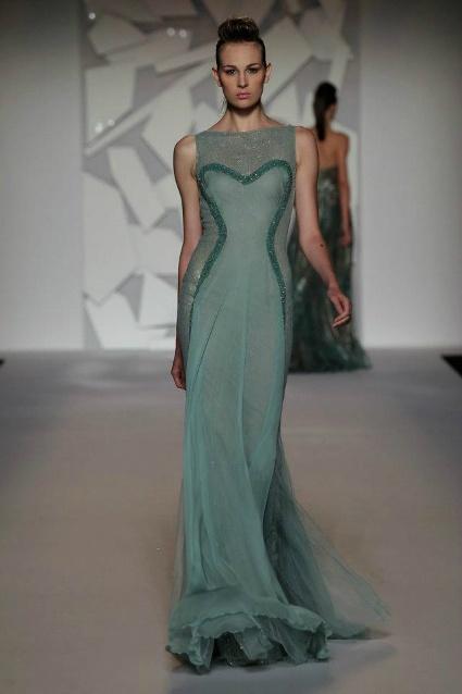 Vestido de noiva verde: um amor de vestido, by Abed Mahfouz: Abed Mahfouz, Casar Assim, Dresses, Mahfouz Haute, Vou Casar, Quer Casar