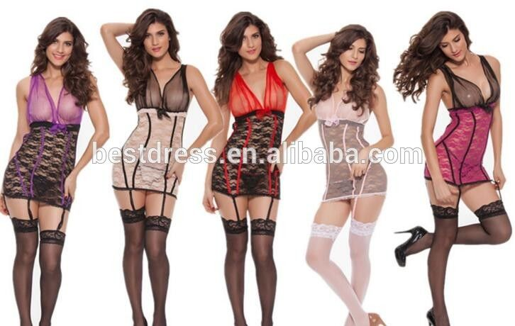 2016 New Arrival! Sexy Sleepwear Women Erotic Lingerie Dress, Sexy Lingerie Hot, Pajamas for women M XL 2XL
