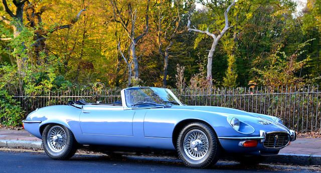 1973 Jaguar E-Type Series III V12 Roadster