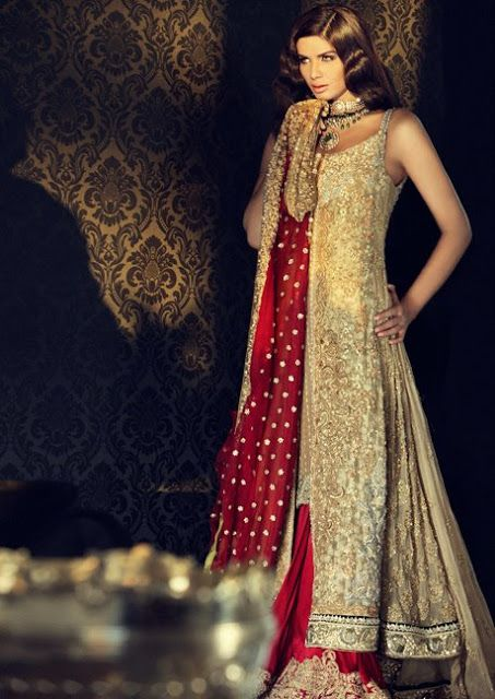 New Bridal Dress Fashion   What's New in Bridal Dresses   Sana Safinaz Bridal Collection