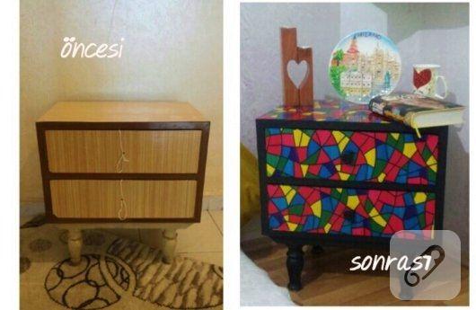 komodin-yenileme-kendin-yap-mobilya-boyama
