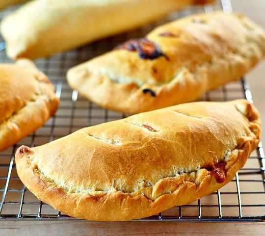 How to Make Calzones  (And Freeze Them for Later!)  Make with vegan cheese