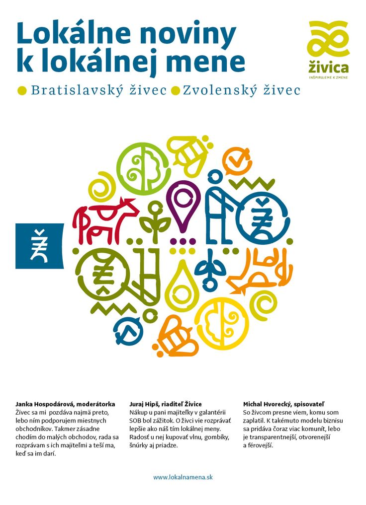 Zivec newspapers are using Preto Sans bit.ly/preto_sans and Preto Serif bit.ly/preto_serif for the typesetting and title. Design by: www.somsak.sk
