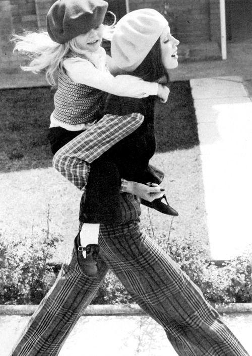 photo by Norman Parkinson, 1971 // via They Roared Vintage // found via Celina Bailey
