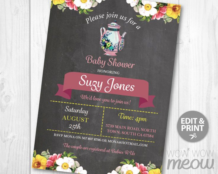 Tea Party Baby Shower Invitation DOWNLOAD Elegant Floral Rose It's a Boy Girl Couple Gender Reveal Invite Teapot Cup Personalize Printable #gardenPartyInvitation BABY SHOWER TWINS BABY SHOWER GENDER REVEAL TEA CUP BABY SHOWER VINTAGE BABY SHOWER COUPLE BABY SHOWER PURPLE BABY SHOWER GIRL BABY SHOWER BOY BABY SHOWER SURPRISE BABY SHOWER GARDEN PARTY SHOWER TEAPOT BABY SHOWER AFTERNOON TEA 4.99 GBP wowwowmeow