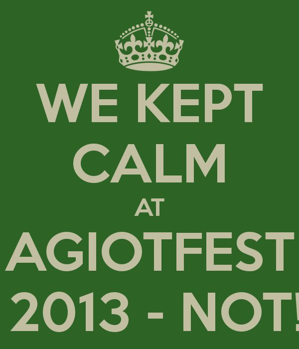 Agiotfest 2013