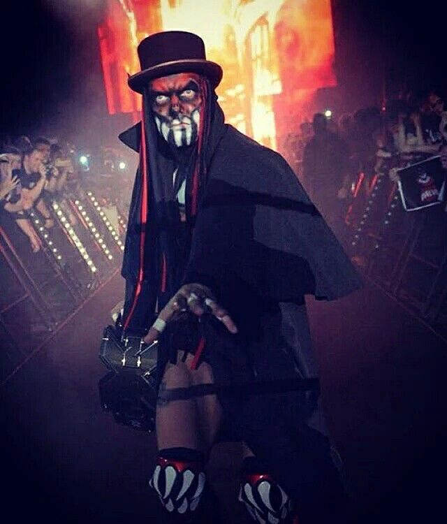 Finn Balor Demon 'The Ripper' entrance from NXT TakeOver: London 2015