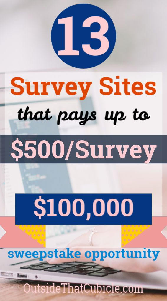 30 Survey Companies You Got To Try Right Now Outside That Cubicle Jobs Survey Sites Survey Sites That Pay Survey Companies