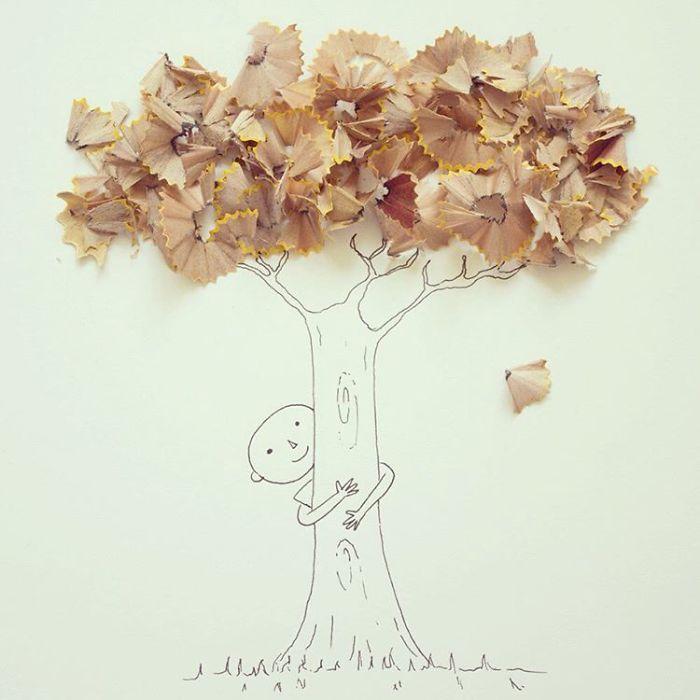 Les jolis dessins créatifs de Javier Pérez Estrella