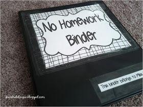 Maestra Bilingüe: No-Homework Binder