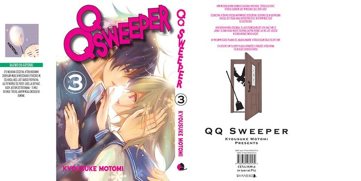 QQ Sweeper! tom 3, planowana premiera 6 sierpnia.