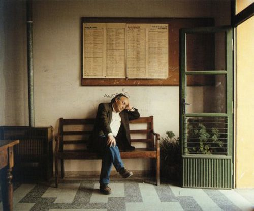 Luigi Ghirri - self portrait
