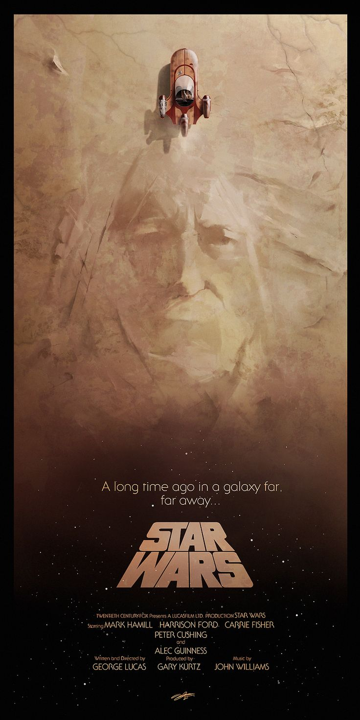 Star Wars - A New Hope by Andy Fairhurst *