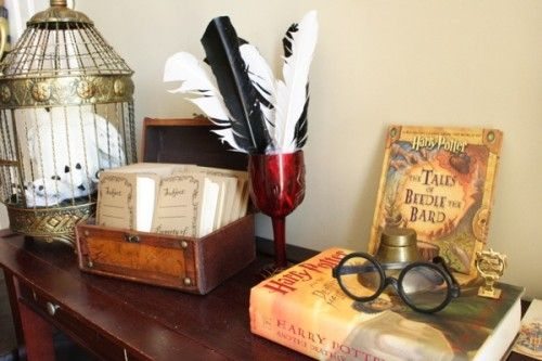 Harry Potter Party decorations #harrypotter