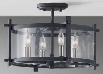 I Need This Semi Flush Mount Ceiling Light It Has The Look Of