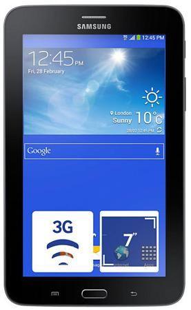 Планшет Samsung GALAXY Tab 3 7.0 Lite VE SM-T116 3G 8Gb чёрный  — 8990 руб. —  Толщина этого планшета всего 9,7 мм, его удобно держать в руке, он легко поместится в карман куртки, но при этом вы получаете мощное устройство на базе Android с рядом специфических особенностей. Великолепный семидюймовый дисплей с разрешением 1024 х 600 точек, фотокамера, поддержка всех основных мультимедийный форматов - вы легко сможете взять с собой в дорогу любимый сериал без утомительной и долгой конвертации…