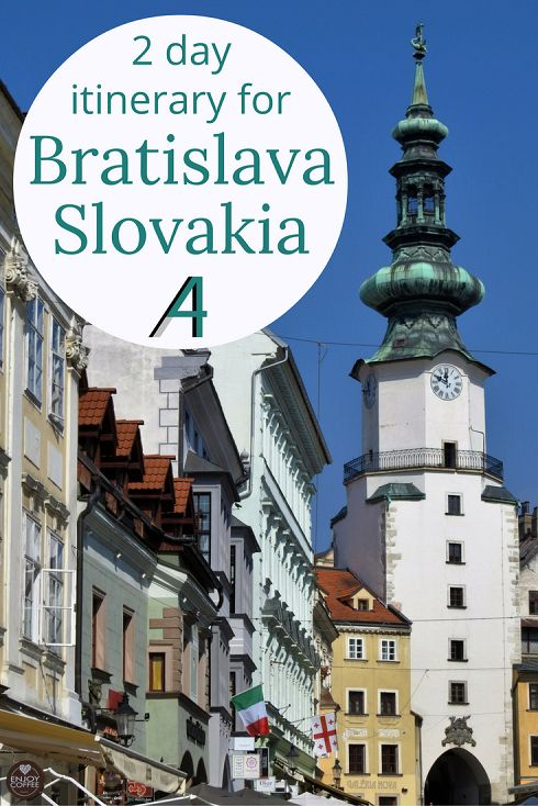 Adoration 4 Adventure's 2 day itinerary for Bratislava, Slovakia. Exploring castles, tasting Slovakian food and learning more about the rich culture.
